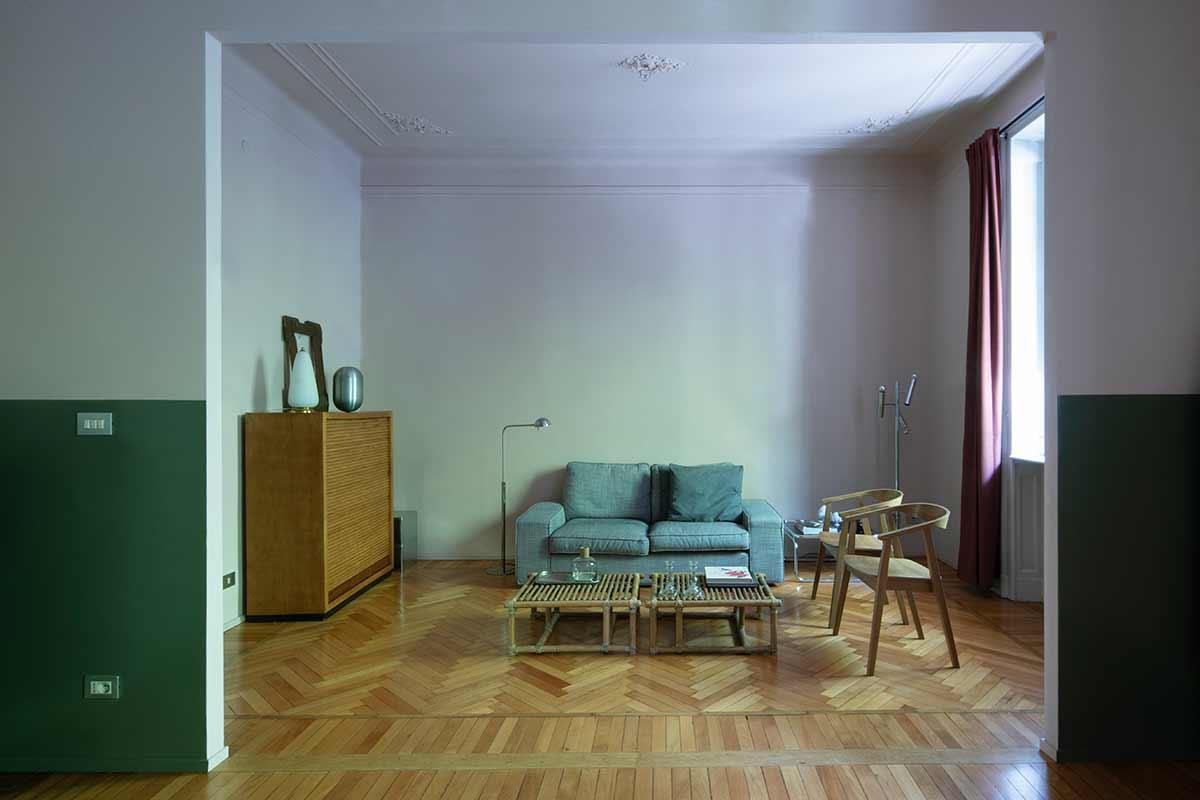 ickoffice casa da livingroom wood oak vintage couch