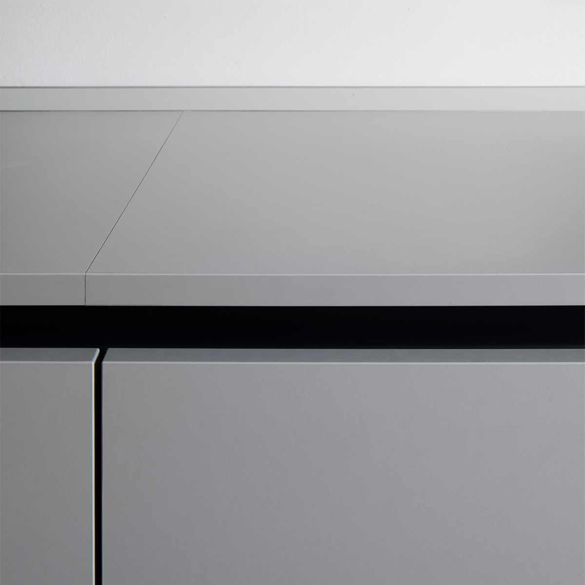 kickoffice casa dgp kitchen detail grey