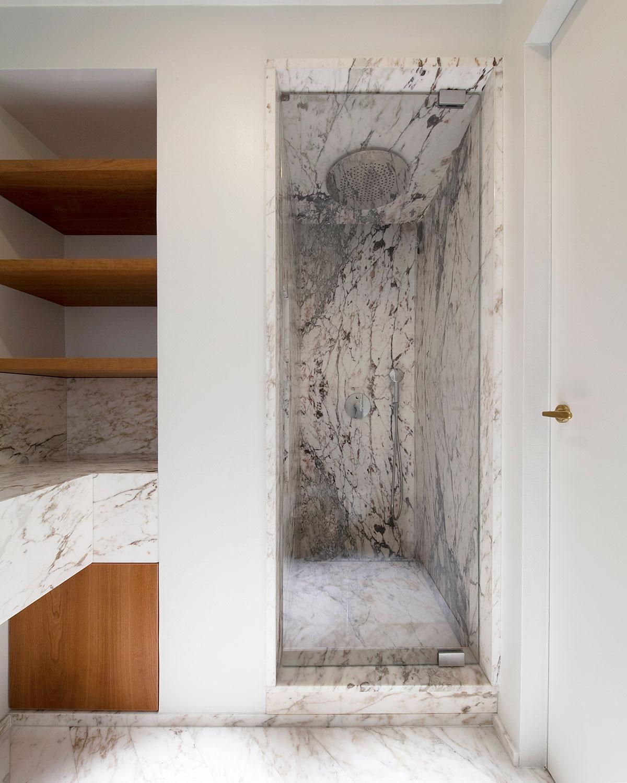 kickoffice casa dgr bathroom marble white shower fantini wood shelving