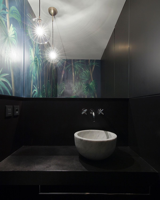 kickoffice casa dgr bathroom wallpaper leaves kerakoll mamoli schwunghome