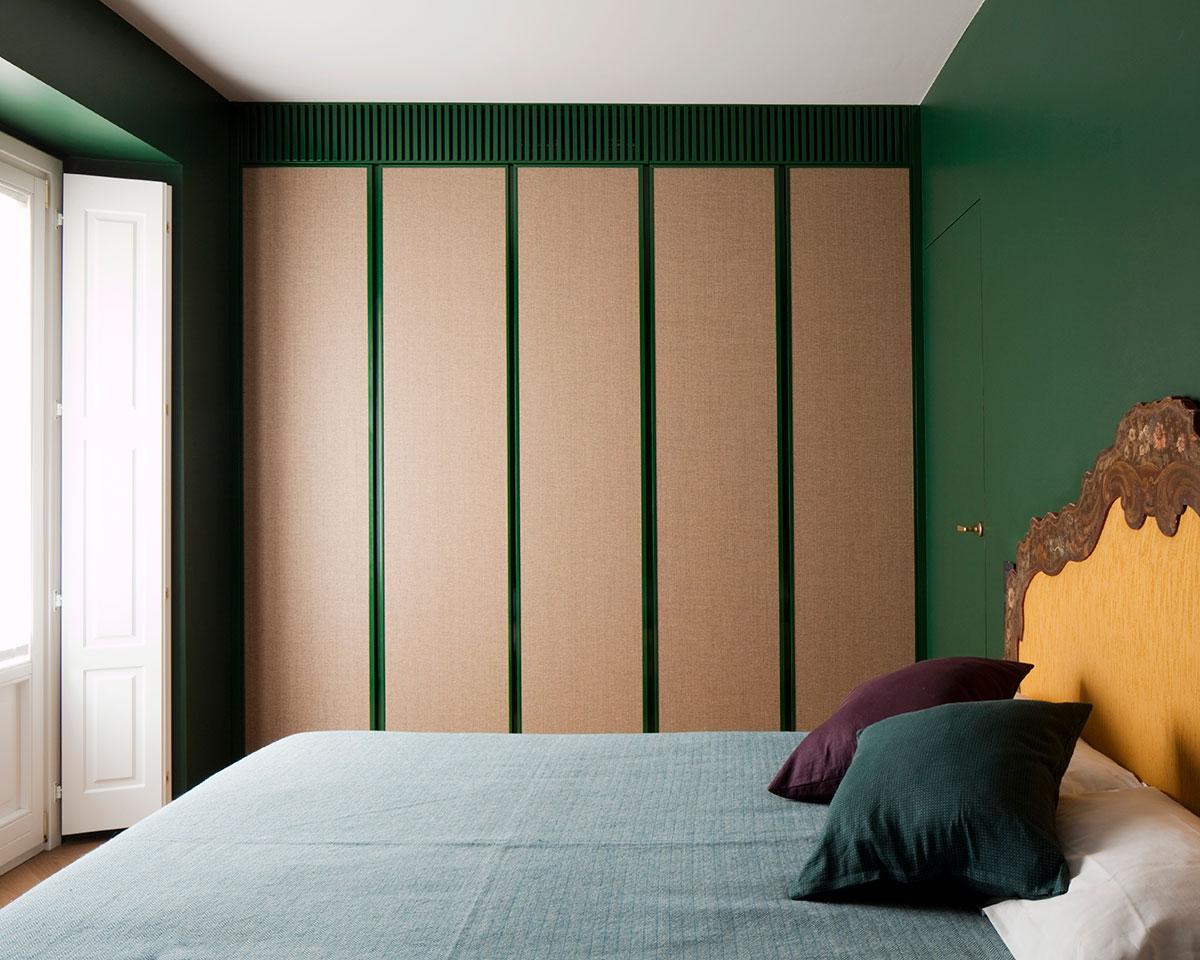 kickoffice casa dgr bedroom wardrobe green