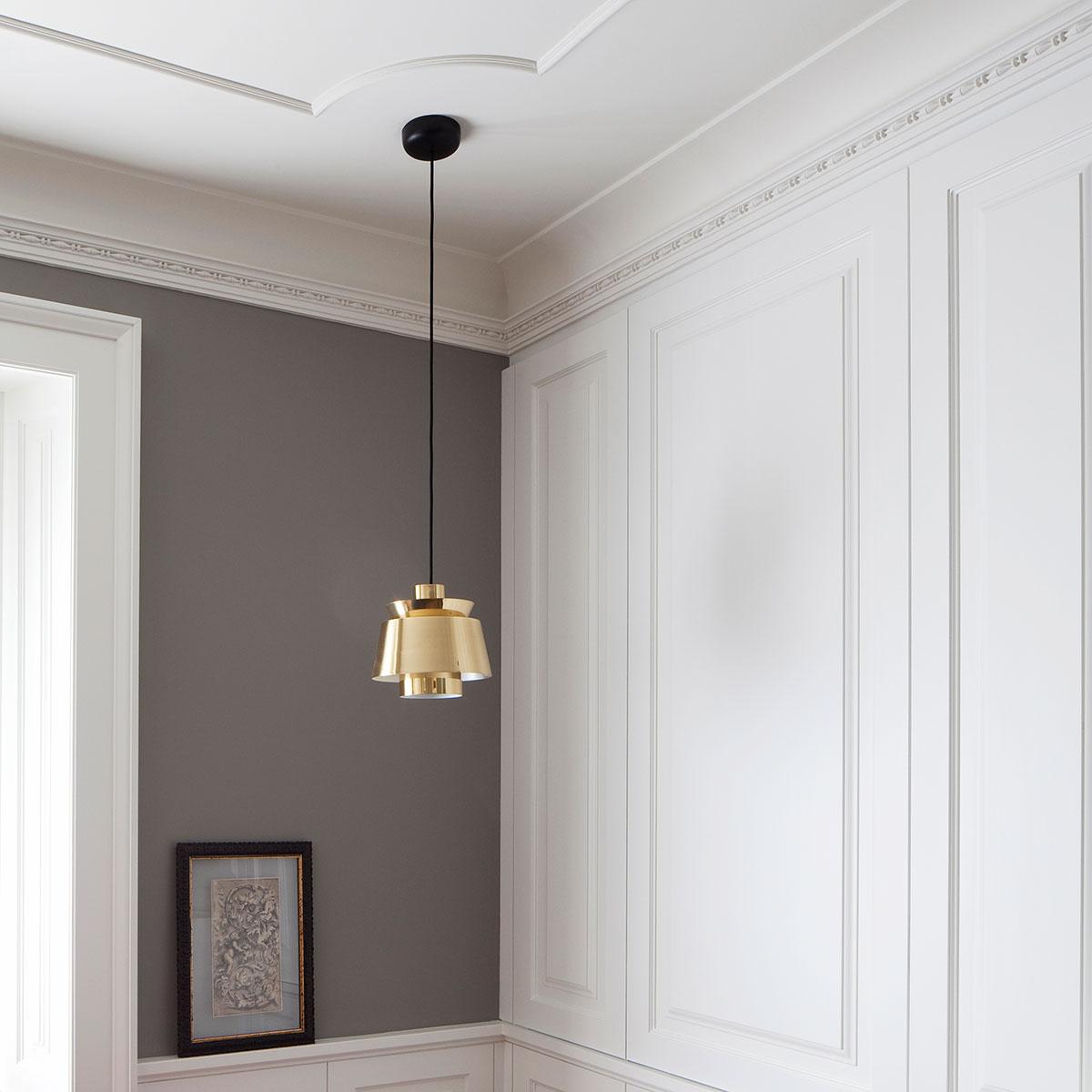 kickoffice casa dgr light lamp brass utzon suspension