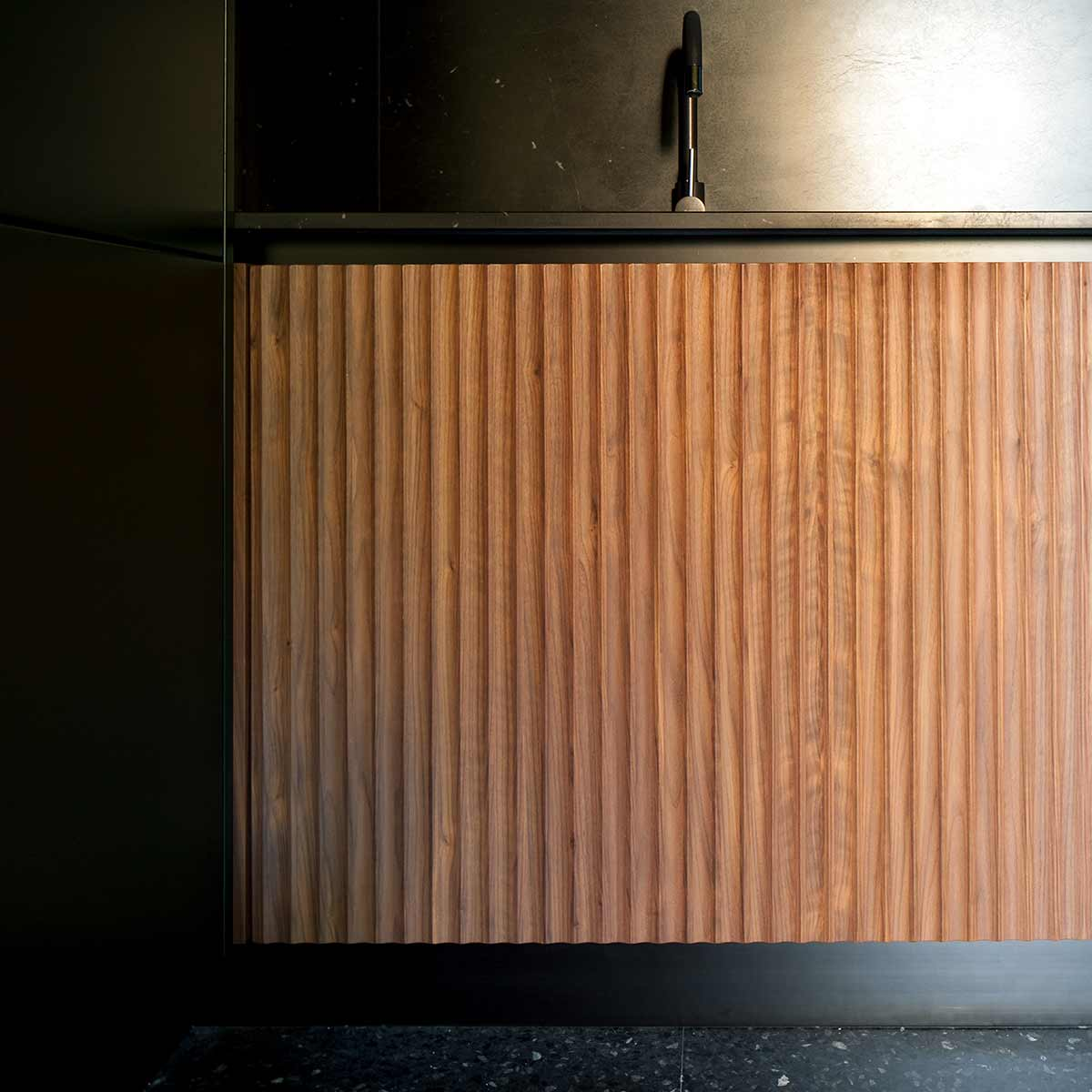 kickoffice casa n kitchen wood detail