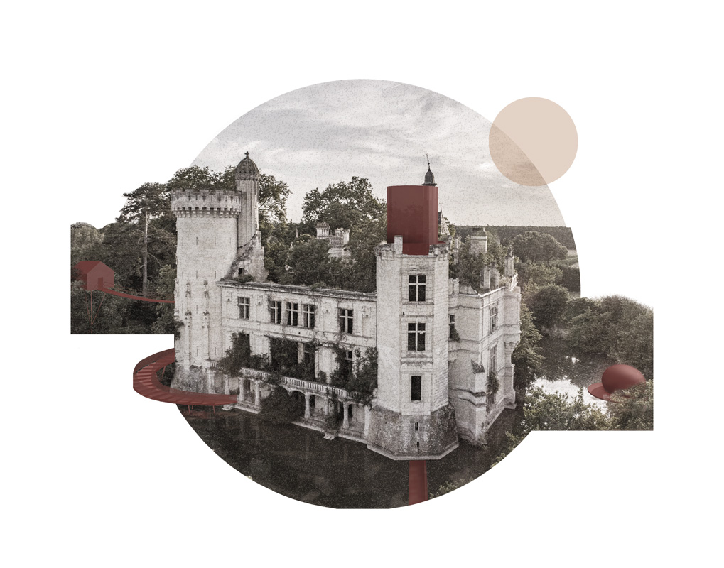kickoffice common ruins competition view castle hospitality collage red