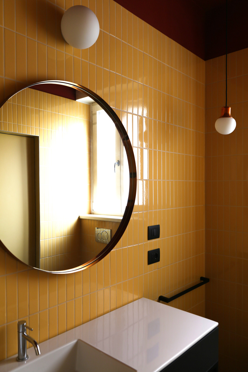 kickoffice casa ff2 bathroom tiles mirror artemide ceramicavogue