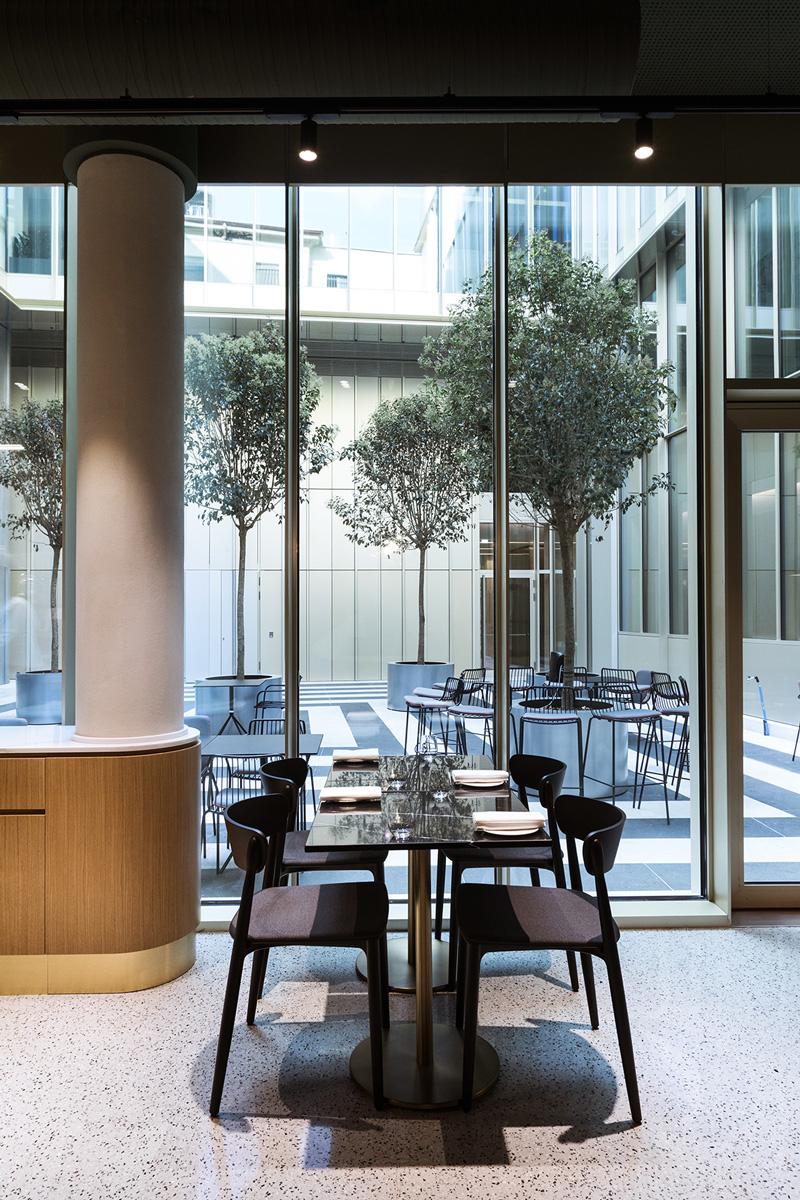 kickoffice opencolonna restaurant outdoor indoor