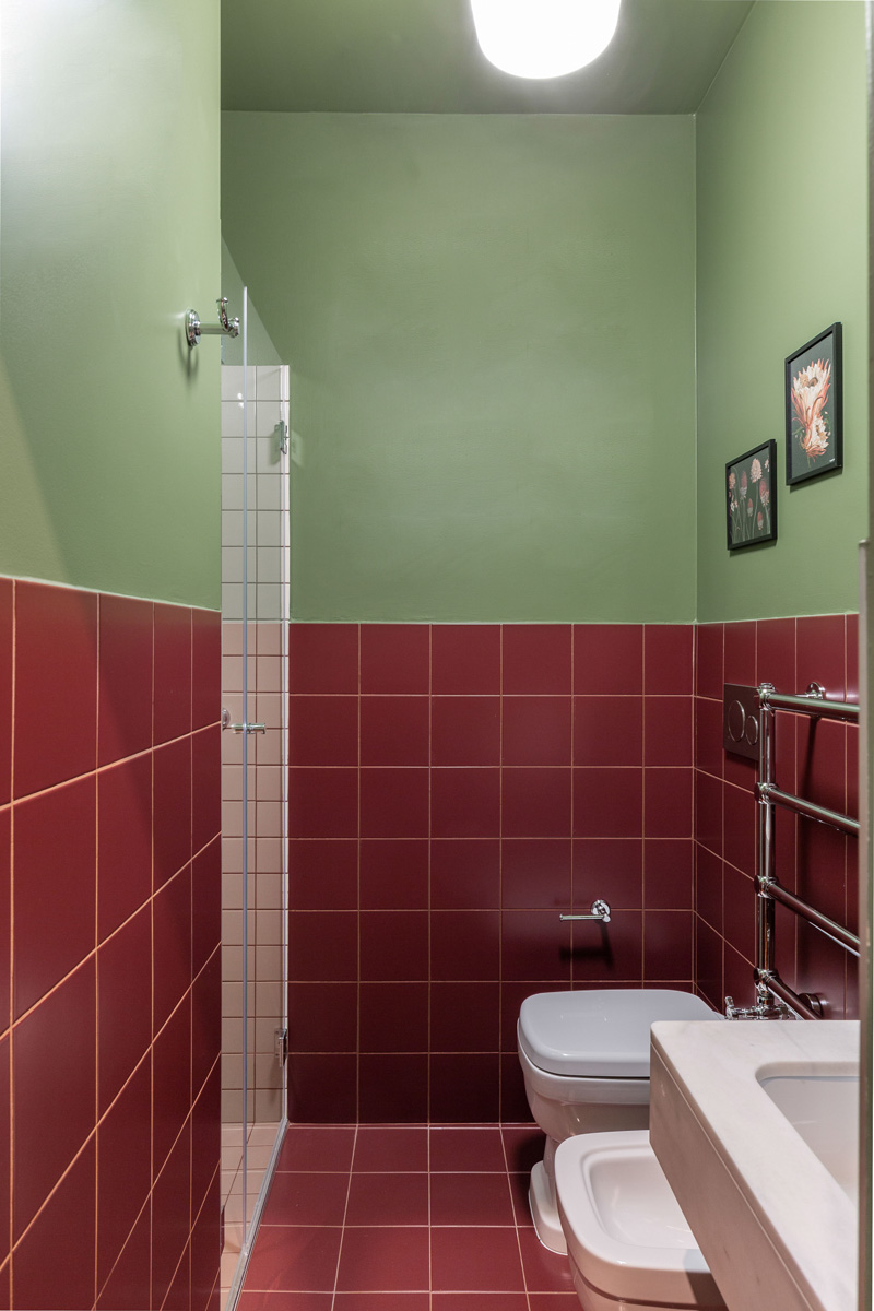 kickoffice broggi apartments bathroom tiles vogue green