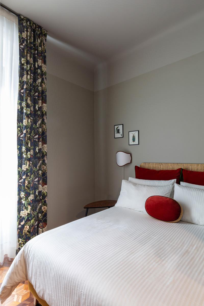 kickoffice broggi apartments bedroom curtain texture