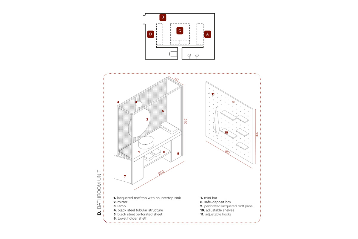kickoffice ingrid hotellab bespoke forniture unit d