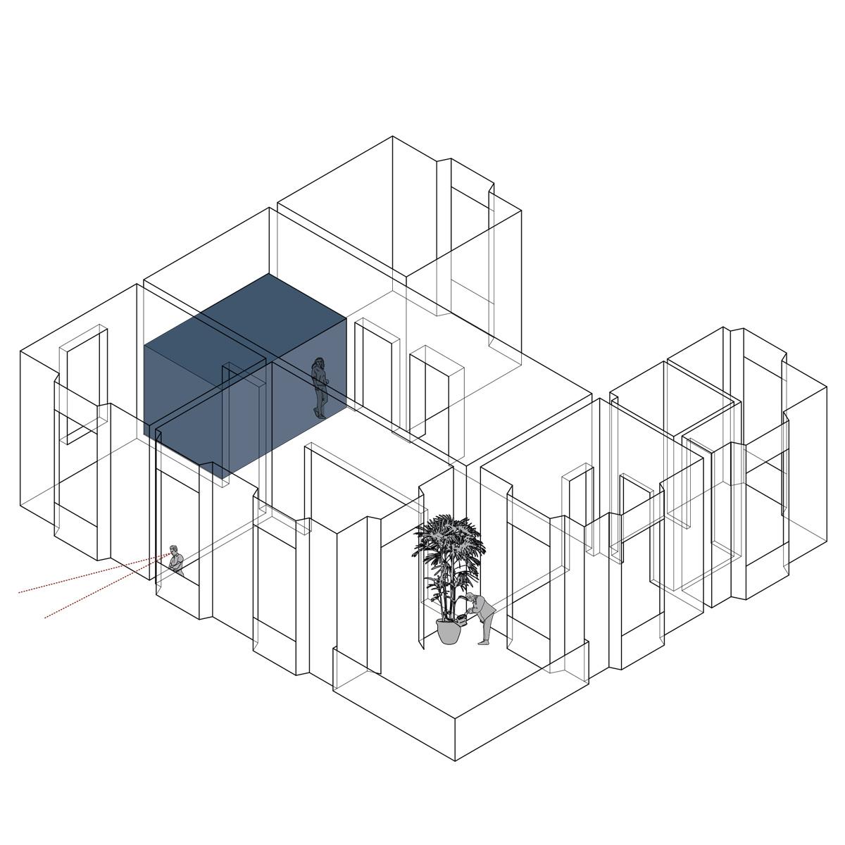 kickoffice villa n4 1 drawing axo concept diagram