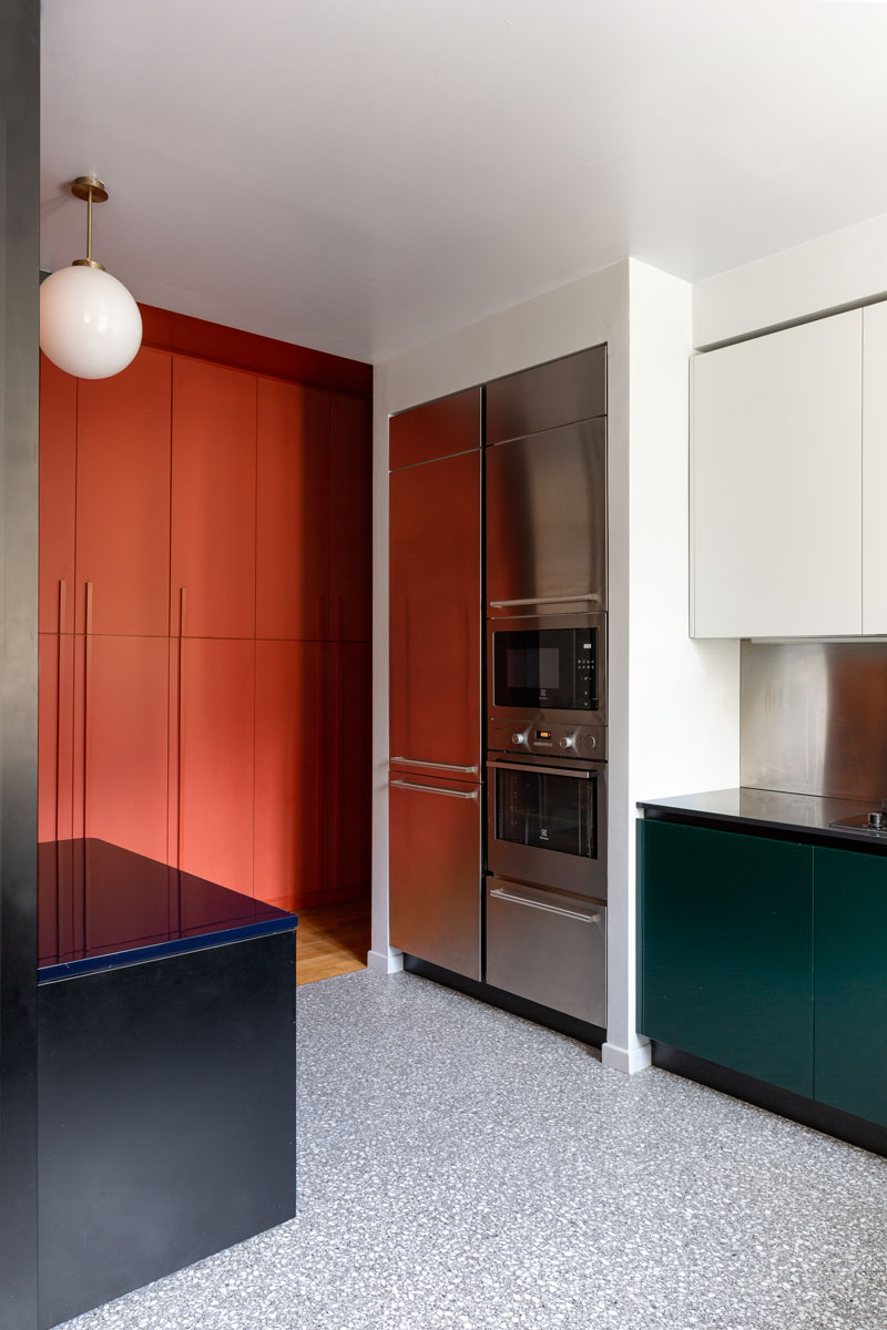 kickoffice casa cb livingroom kitchen filter bespoke color glass mariottifulget venetacucine