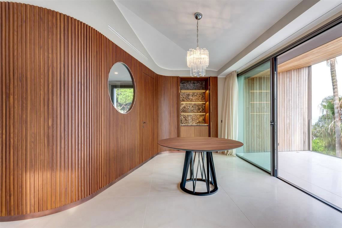 kickoffice casa t kitchen livingroom oblo boiserie wood view marble acco