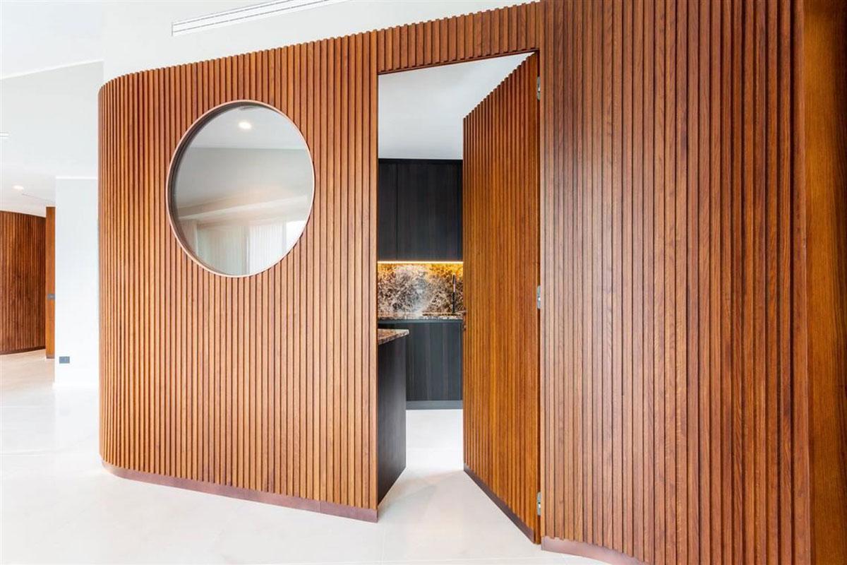 kickoffice casa t kitchen livingroom oblo boiserie wood