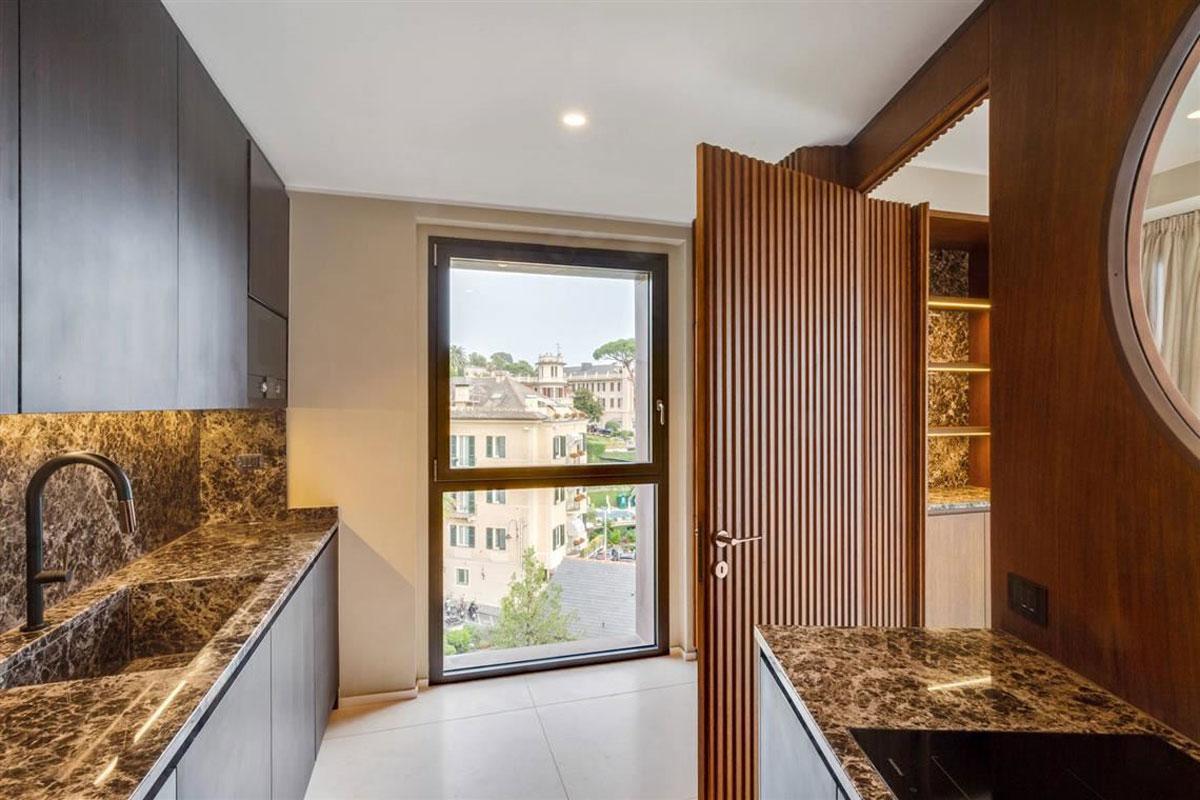 kickoffice casa t view santamargherita marble kitchen