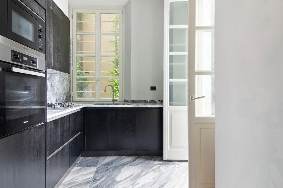 kickoffice villa n 41 interiors kitchen marble santamargherita